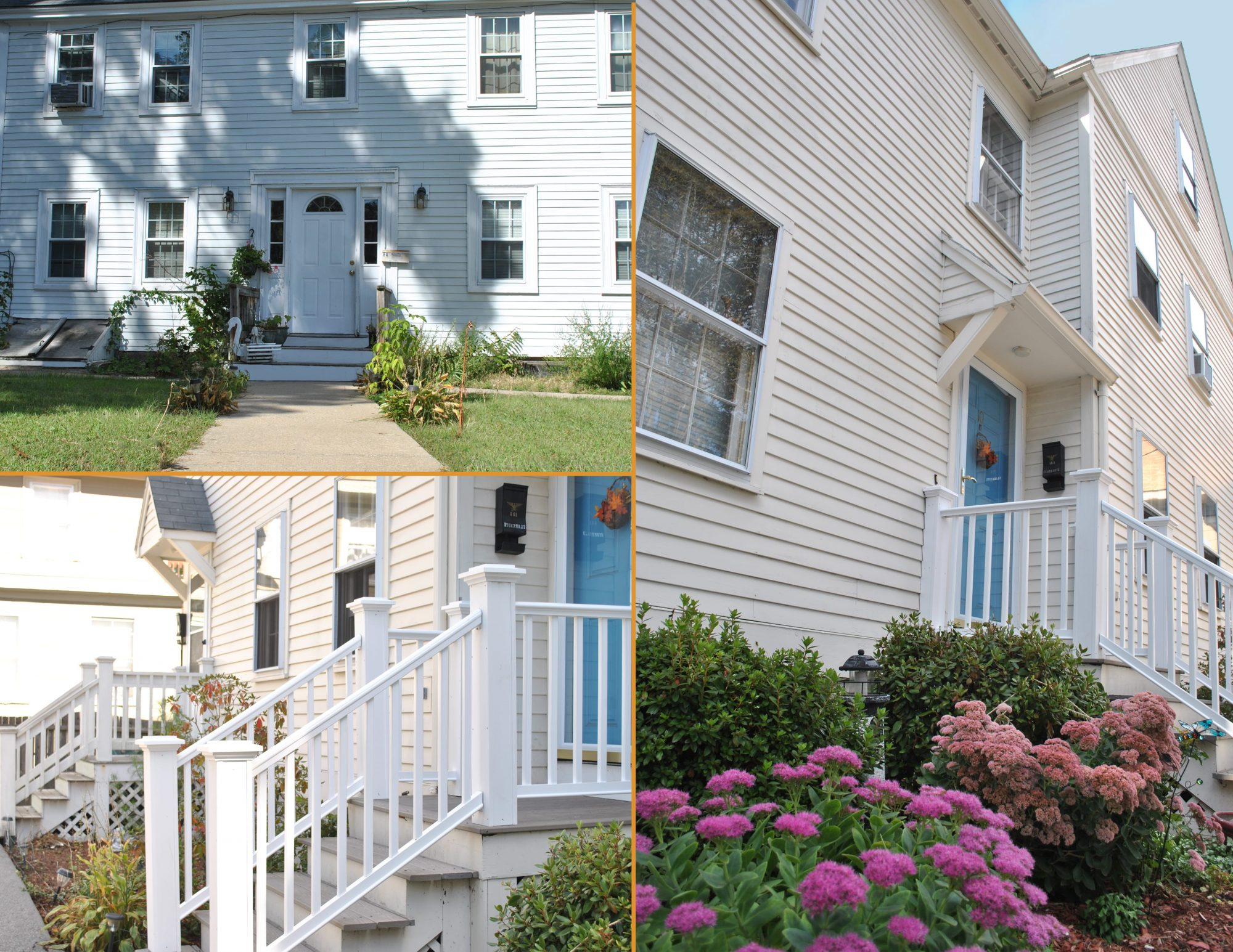 Collage of Harborlight houses